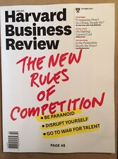 Harvard Business Review Rules Of Competition Talent October 2015 FREE SHIPPING!