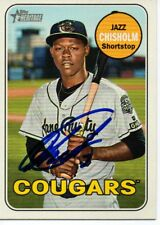 Jazz Chisholm Kane County Cougars 2018 Topps Heritage Minors Signed Card