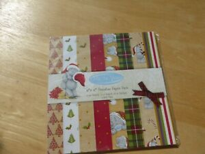 """6"""" x 6"""" LOVELY CHRISTMAS DESIGNS  ME TO YOU HOLLY CHRISTMAS TREES 24 SHEETS"""