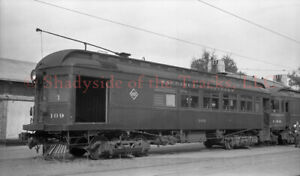 Sacramento Northern SN Interurban Combine #109 Original Negative Marysville