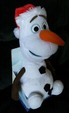 New Disney Frozen Speak Talk and Sway Santa Olaf Animated Plush