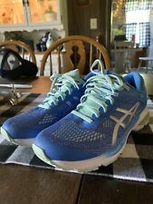 Asics Womens Gel Kayano 26 Blue Running Shoes Lace Up Low Top Size 9