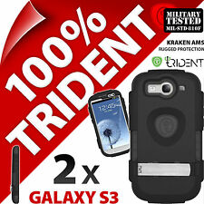 2 x Trident Kraken AMS Protective Hard Case Cover for Samsung i9300 Galaxy S3