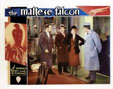 Old Film Star Photo The Maltese Falcon Lobby Card Ricardo Cortez J Farrell Bebe