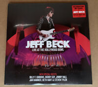 JEFF BECK * LIVE AT THE HOLLYWOOD BOWL * 3-LPS ON 180 GM VINYL * 2018 * SEALED