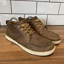 TIMBERLAND EARTHKEEPERS 6435A LACE UP MENS BROWN LEATHER CHUKKA BOOTS UK SIZE 8