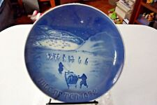 1972 Bing And Grondahl B&G Christmas In Greenland Plate Copenhagen