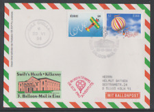 Irland 1994  3. Pro Juventute  Sonder-Ballonpostflug