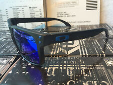 polarized holbrook matte black/sapphire iridium sunglasses