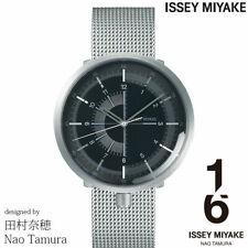 2019 New!! ISSEY MIYAKE 1/6 Nao Tamura NYAK002 Mechanical Men's Watch Silver