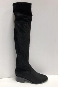 Steve Madden, Georgette Women's Over The Knee Boot-Black, Size 7.5 M