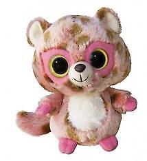 "5"" YooHoo & Friends Pink Leopard Rosette Aurora Plush Stuffed Animal Toy 10765"
