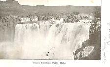VIntage Postcard-Great Shoshone Falls, Idaho