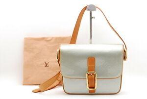 【Rank AB】Auth LOUIS VUITTON Vernis Christie GM M91148 Shoulder Bag From Japan078