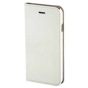 Hama Klapptasche für Apple iPhone 6/6S Weiß mit Einsteckfach Booklet Slim