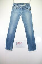 G-Star Elect Straight wmn (Cod. B260) Tg39 W25 L32 jeans usato vintage donna