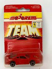 Majorette 280 Ferrari F40 Red Italian Card Very Rare