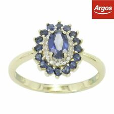 Sapphire Excellent Cut Fine Diamond Rings