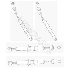 Set of 2 Front & 2 Rear Shock Absorbers Genuine KIT For Toyota Tundra 07-17