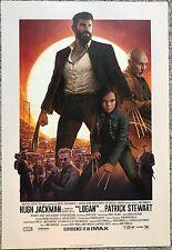 LOGAN Movie IMAX Premiere Promo Poster Window Card 13x19 WOLVERINE Hugh Jackman