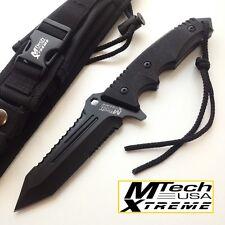 KNIFE COLTELLO DA CACCIA MTECH-8111 SURVIVOR CAMPEGGIO SOPRAVVIVENZA SURVIVAL