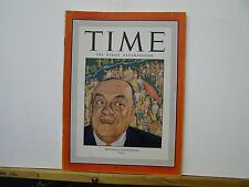 Time Magazine Montreal's Mayor Houde 1946 News, General Interest and Weekly