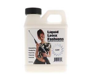 Ammonia Free Liquid Latex Body Paint 8oz Clear