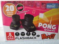 Atari Flashback Blast Pong & Atari Hits Vol.3 2.4 GHz Wireless Paddles (NEW SEAL