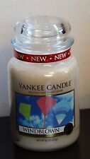 Yankee Candle Windblown Large Jar Candle NEW Summer Scent 1342392