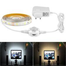 1-5M PIR Motion Sensor LED Strip Light In Under Cabinet Closet Night light 12V F