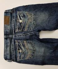 Womens BKE STARLITE Jeans 26 X 31 1/2 Flap Pocket EUC Pre-owned