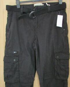 Jacamo Black Cargo Pant 36'' WAIST 32'' LEG