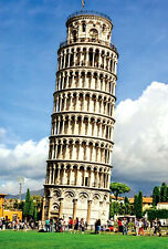 1000 Piece Adult Puzzle Leaning Tower of Pisa Scene Jigsaw Educational Toys Gift