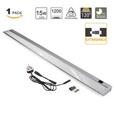 Aluminum Rotatable 15W LED Under Cabinet Cupboard Light Kitchen Lamp Mirror Lamp