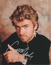 George Michael  Autograph , Original Hand Signed Photo