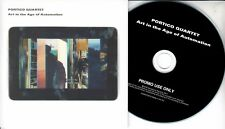 PORTICO QUARTET Art In The Age Of Automation 2017 UK 11-trk promo test CD