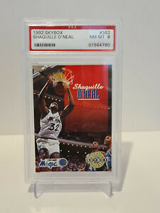 1992-93 Shaquille O'Neal Skybox Rookie Orlando Magic #382 PSA 8 MINT