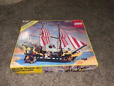 LEGO 6285 Pirates Black Seas Barracuda Box Top Only 1989