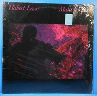 HUBERT LAWS MAKE IT LAST LP 1983 ORIGINAL SHRINK GREAT CONDITION VG+/VG+!!