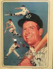 Mickey Mantle Signed Autographed Framed Picture JSA AUTHENTIC Limited 178 /1500