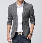 2016 Autumn Fashion Mens Slim Fit Blazers Spring Coats Suit Casual Coats Jackets