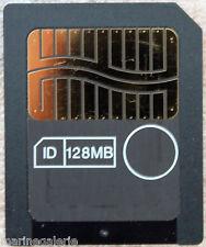carte Smart Media 128 mo mb mémoire NEUVE étui NEUF simili cuir ,tout dédouané