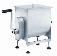 LEM 25 lb Hand Crank Manual Meat Mixer or Motorized with LEM Grinder