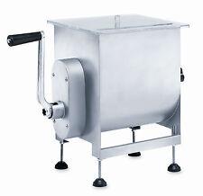LEM 25 lb Hand Crank Manual Meat Mixer or Motorized with LEM Grinder
