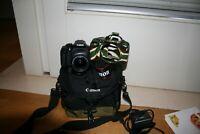 Fotocamera Canon EOS 1300d reflex digitale + obiettivo 18-55 IS + borsa + sd 64