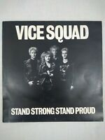 Vice Squad Stand Strong Stand Proud 12 Track Vinyl LP (1st Pressing/Pic Inner)