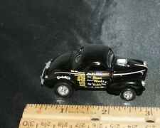 100% HOT WHEELS  STONE WOODS & COOK '41 WILLYS GASSER NHRA DRAGSTER RARE BLACK