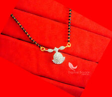 T68P, Daphne Cute Tiny Mangalsutra Pendent  Valentine Gift for Wife