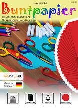 Buntpapier Bastelpapier DIN A4 25 Blatt 80 g/m²  Rot #1101