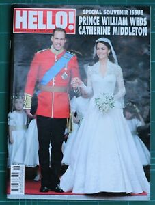 Hello Magazine Prince William weds Kate Middleton, 9 May 2011